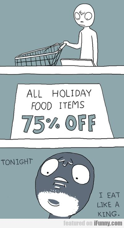 All Holiday Food Items