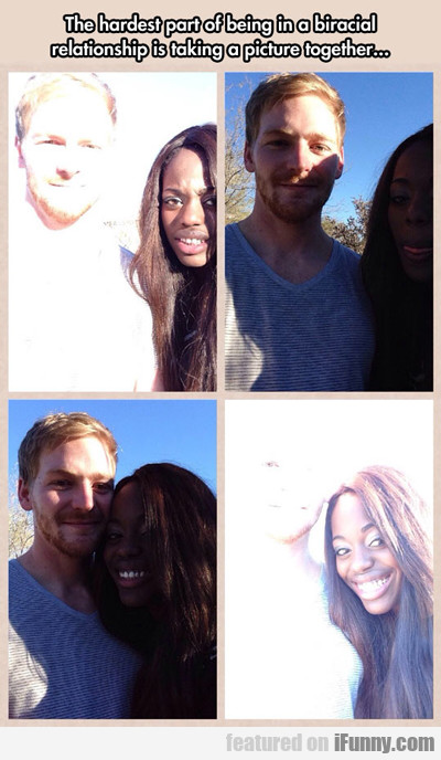 the hardest part of being in a biracial...