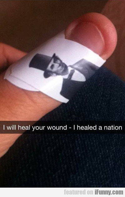 I Will Heal Your Wound, I Healed A Nation