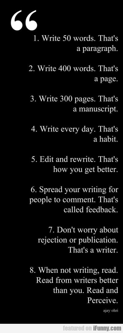 Write 50 words That's a paragraph.