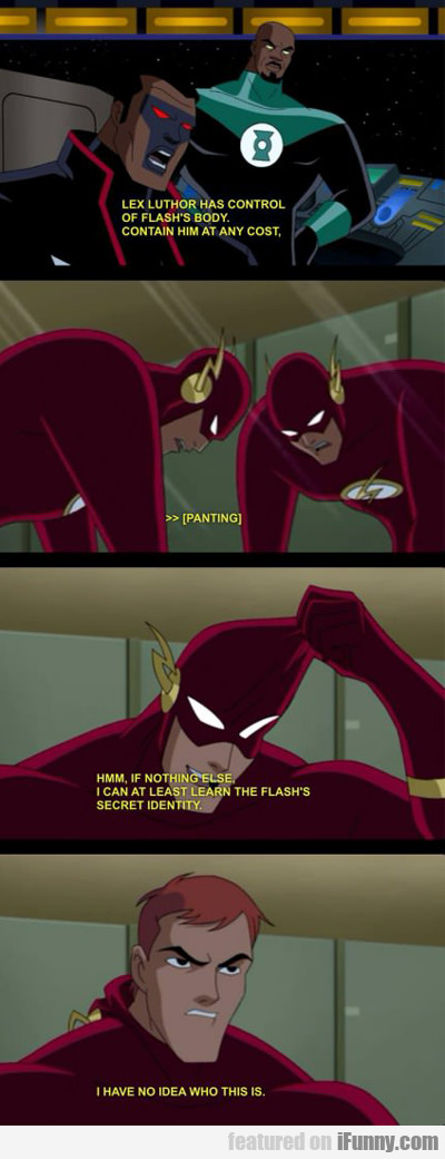 Lex Luthor Has Control Of Flash's Body...