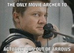 The Only Movie Archer To Actually Run Out Of...