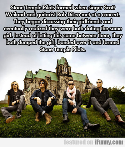 Stone Temple Pilots Formed When Singer Scott...