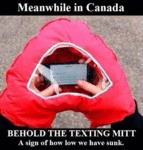 Behold The Texting Mitt...