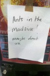 Ants In The Machine! Maybe Don't Use.