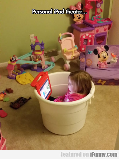 Personal iPad theater