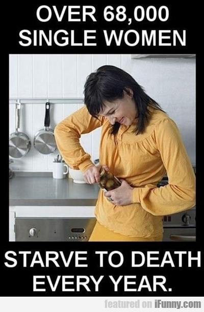 Over 68,000 Women Starve To Death...