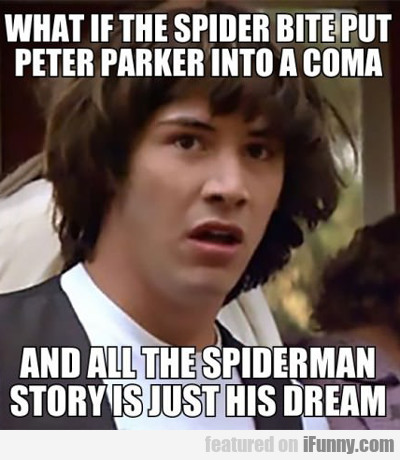 What If The Spider Bite Put Peter Parker Into A...