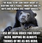 I've Read To My So Every Night At Bedtime...