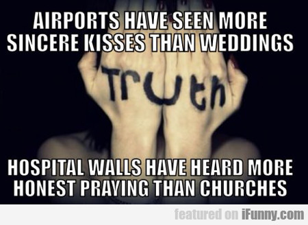 Airports Have Seen More Sincere Kisses...