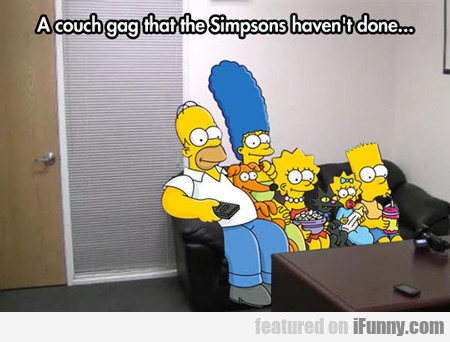 A Couch Gag That The Simpsons Hasn't Done