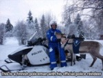 This Is A Finnish Policeman