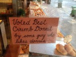 Voted Best Crumb Donut By Some Guy...
