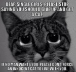 Dear Single Girls, Please Stop