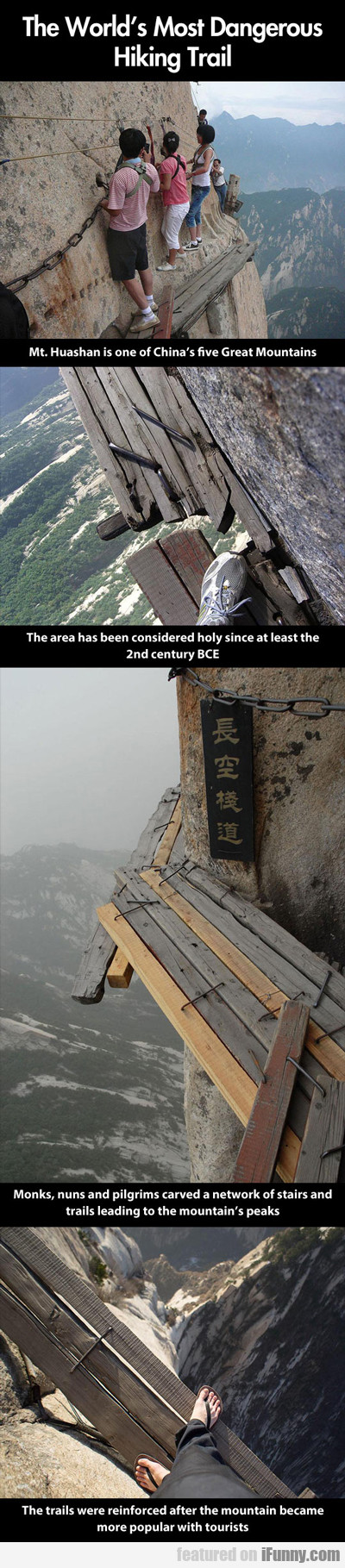 The World's Most Dangerous Hiking Trail...