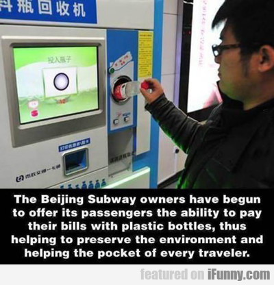 The Beijing Subway Owners...