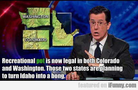 Recreational Pot Is Now Legal In Colorado...