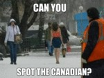 Can You Spot The Canadian...