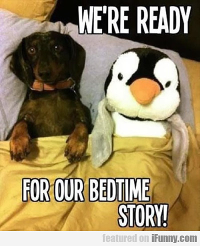 We're Ready For Bedtime Story