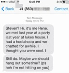 Steven? Hi. It's Me Rene. We Met Last Year At A..
