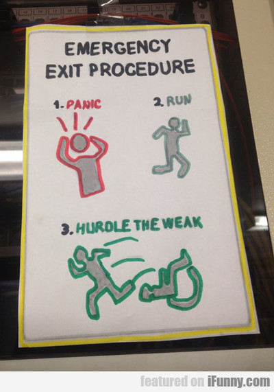 Emergency Exit Procedure...