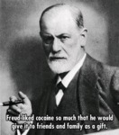 Freud Liked Cocaine So Much...