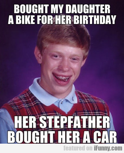 Bought My Daughter A Bike For Her Birthday...