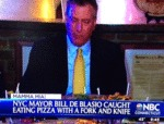 Nyc Mayor Bill De Blasio...