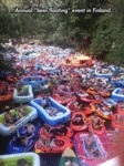 Annual Beer Floating Event In Finland...