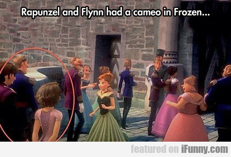 Rapunzel And Flynn Had A Cameo In Frozen...