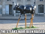 The Steaks Have Been Raised