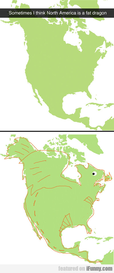 Sometimes I Think North American Is A Fat...