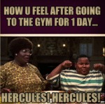 How You Feel After Going To The Gym...