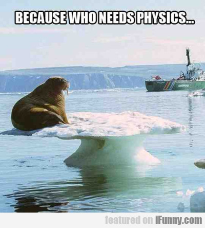 Because Who Needs Physics