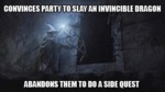 Convinces Army To Slay A Magical Dragon...