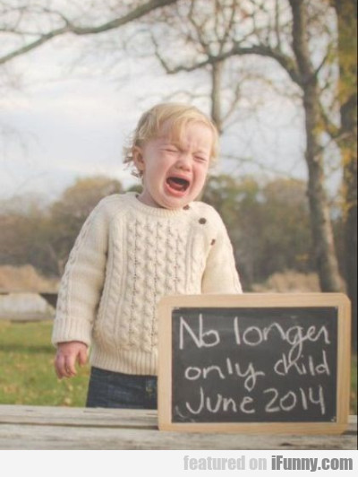 No Longer Only Child