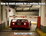 How To Avoid Paying For A Parking Ticket...