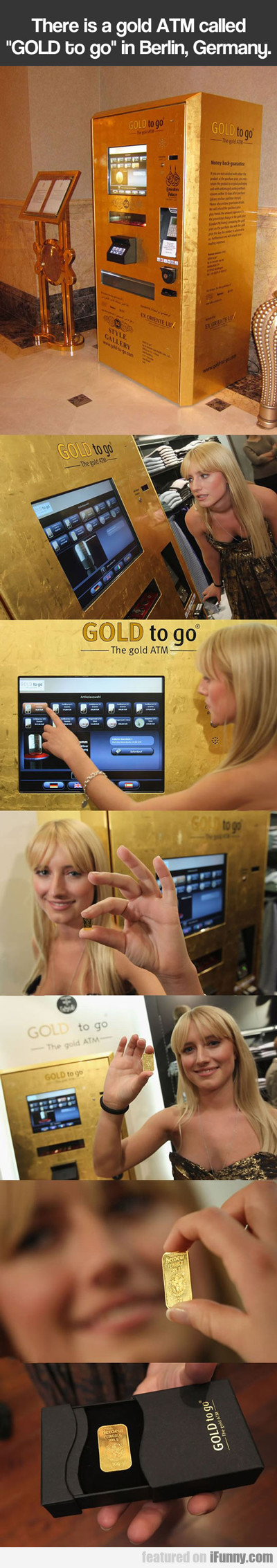 There Is A Gold Atm Called Gold To Go...