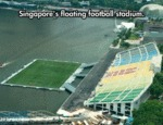 Singapore's Floating Football Stadium...