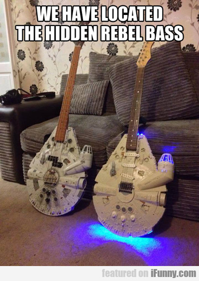 We Have Located The Hidden Rebel Bass...