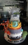My Sister Made A Game Of Thrones Cake...