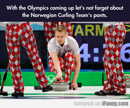 With The Olympics Coming Up...