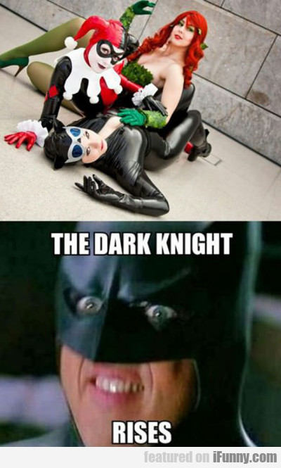 The Dark Knight Rises...