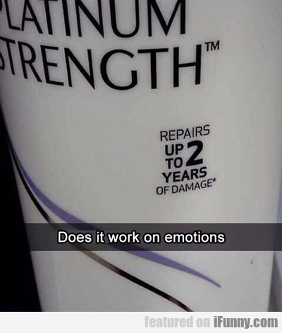 Does It Work On Emotions?