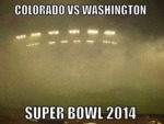Colorado Vs Washington, Superbowl 2014...