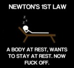 Newton's First Law...
