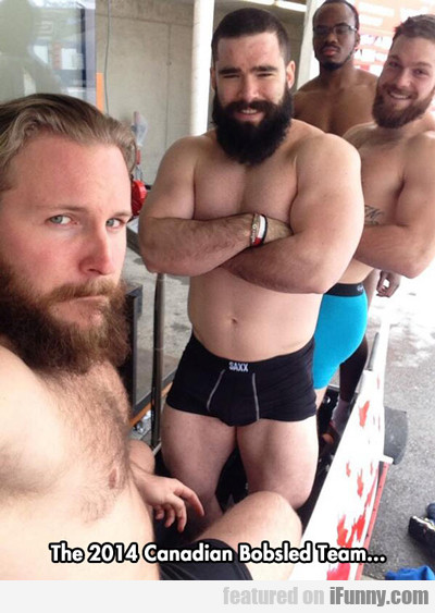The 2014 Canadian Bobsled Team...