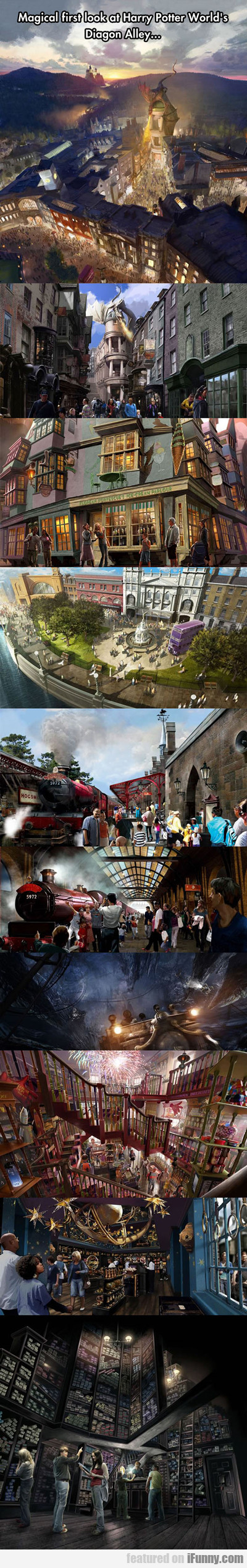 Magical First Look At Harry Potter World's...
