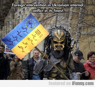 Foreign Intervention In Ukrainian Internal...
