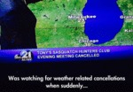 Was Watching For Weather Related Cancellations...